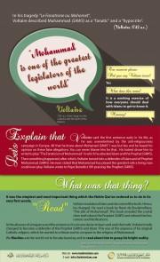 النبي محمد أحد أعظم المشرّعين في العالم